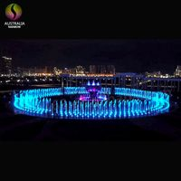 China Supplier Outdoor Music Dancing Ground Floor Dry Fountain