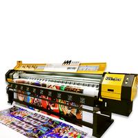 3.2M Solvent PrinterLarge Format Printer Flex Banner Printing Machine thumbnail image