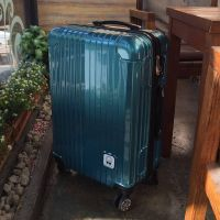 NO:PC-002Vertical stripe universal wheel travel box Luggage Trolley Bags