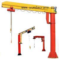 BZ Model Floor mounted Jib Crane(Column Swing Crane)