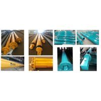 Factory Rotary Piling Kelly Bar Parts Kelly Guide Drive Sleeve Slew Bearing Stub Transfer Auger for