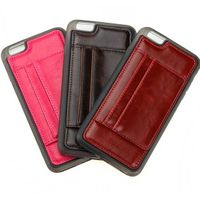 New style PU leather with TPU 2-in-1 phone cover with card holder thumbnail image