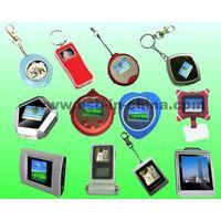 mini electronic digital photo frame with chain thumbnail image