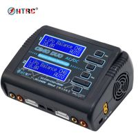 C240 AC150W /DC240W Dual Channel 10A Balance Charger for LiPo LiHV LiFe Lilon NiCd NiMh Pb battery