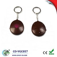 talking recording voice oval key chains for gifts