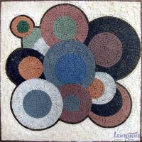 Vinyls Mosaic Abstract Art