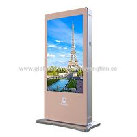 """Digital Signage Player 65"""" Freestanding Ooh out of Home Outdoor Signage Solution Companies thumbnail image"""
