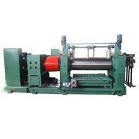 open mixing mill for rubber