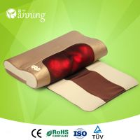 Multifunctional hot-selling acupuncture neck massage pillow,car neck rest massage pillow,infrared ta