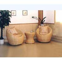 wicker/rattan sofa