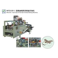 WFD100-1 High Speed twist-rope & Flat-belt handle making machine