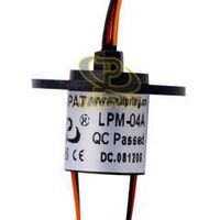Small And Reliable Features Slip Ring With 4 Circuits Capsule Type In Robots