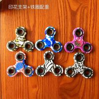Si3N4 ceremic bearing 608 brass/SS/ titanium fidget spinner with metall spinners