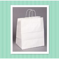 "paper bag 13""x7""x13"" kraft paper bag white kraft paper bag"