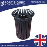 New Innovative Outdoors Waste Bin [Stainless Steel] [FREE SHIPPING] thumbnail image