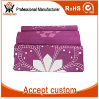 FDT Private Label Sublimation Custom Digital Printed Natural Rubber Eco Yoga Mat thumbnail image