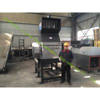 tire/plastic crusher machine