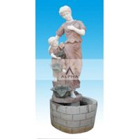 marble statue fountains