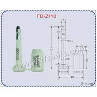 ISO17712 high security seal, contianer seal, bolt seal FD-Z110