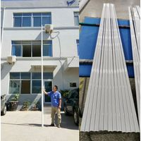 UV resistant white color 2321mm length fiberglass tube for yacht mast pole ship Antenna pole