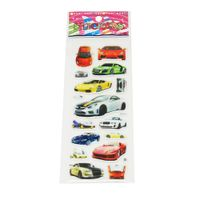 Puffy Sticker With Car Designs thumbnail image