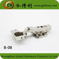 B-08 Half-overlay Cabinet Soft Closing Fixed Buffering Hinge
