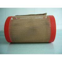 Teflon coated fiberglass screen for special industry material conveyor belt