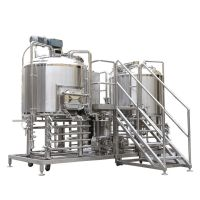 beer brewery equipment with beer brewing equipment for fermrnting with PID control cabinet thumbnail image