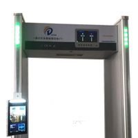 Heat/Fever/Walkthrough Detector Gate with Face Recognition & Thermometry. Thermal detection system