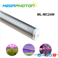 Reliable 24W T8 led growing light tube for multilayer cultivation thumbnail image