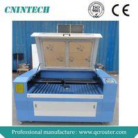 QC1290 Jinan CNINTECH 60W&80W&100W&130W cnc laser wood cutting machine/laser wood cutting machine pr thumbnail image