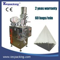 Small pyramid tea bag packing machine