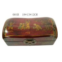Woon box,Jewelry box,Leather covered box thumbnail image