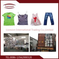High Quality and Low Price Used Clothing
