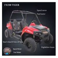 EPA approved steel wheel four-seat UTV200cc supplier thumbnail image