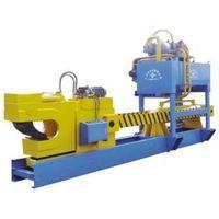 aluminum profile hydraulic straightener machine