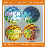Made in China hologram sticker label