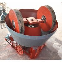 Sudan edge runner mill gold grinding machine wet pan mill