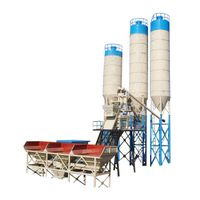 Automatic Commercial Concrete Mixing Plant Central Control Commercial Concrete Production Line Low O thumbnail image