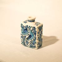 Hand Painted Cubic Vase No.4