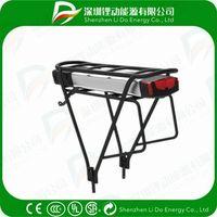 36V Rear Rack Electric Bike Battery