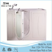 Foshan Zink portable walk in bathtub shower combo