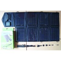 28watt solar laptop mobile phone charger CY-028