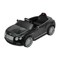 Black Bentley GTC Kids 6v Electric Ride on Toy Car with Parent Remote Control