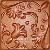 3D wall paper for interior wall decoration 1051