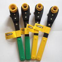 Lineman Dual Sockets Ratchet Wrench thumbnail image