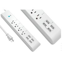 Wi-Fi Surge Protector Power Strip with 4USB charging ports