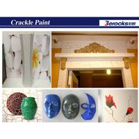 non-toxc coating Beautiful water based crackle paint
