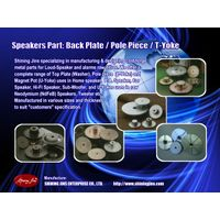 Cold Forged and Turned Speakers part: Top Plate & Back Plate thumbnail image