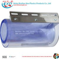 Refrigerator Smooth Flexible Vinyl Strip Curtain Kits